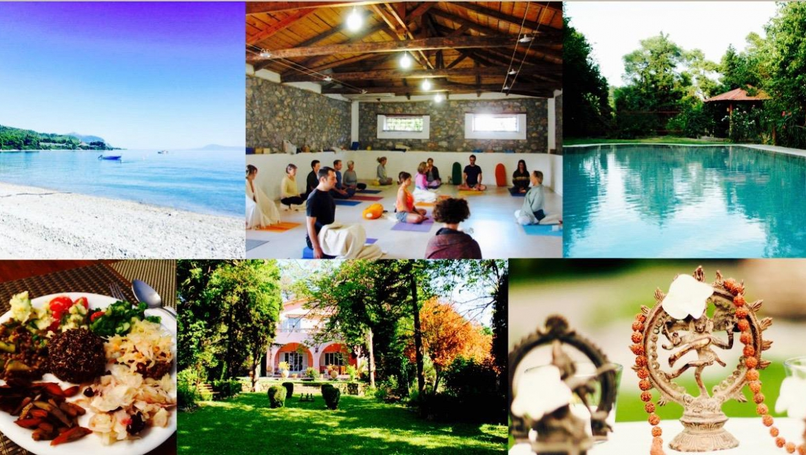 Yoga & macrobiotics holiday retreat in Evia, July 2016